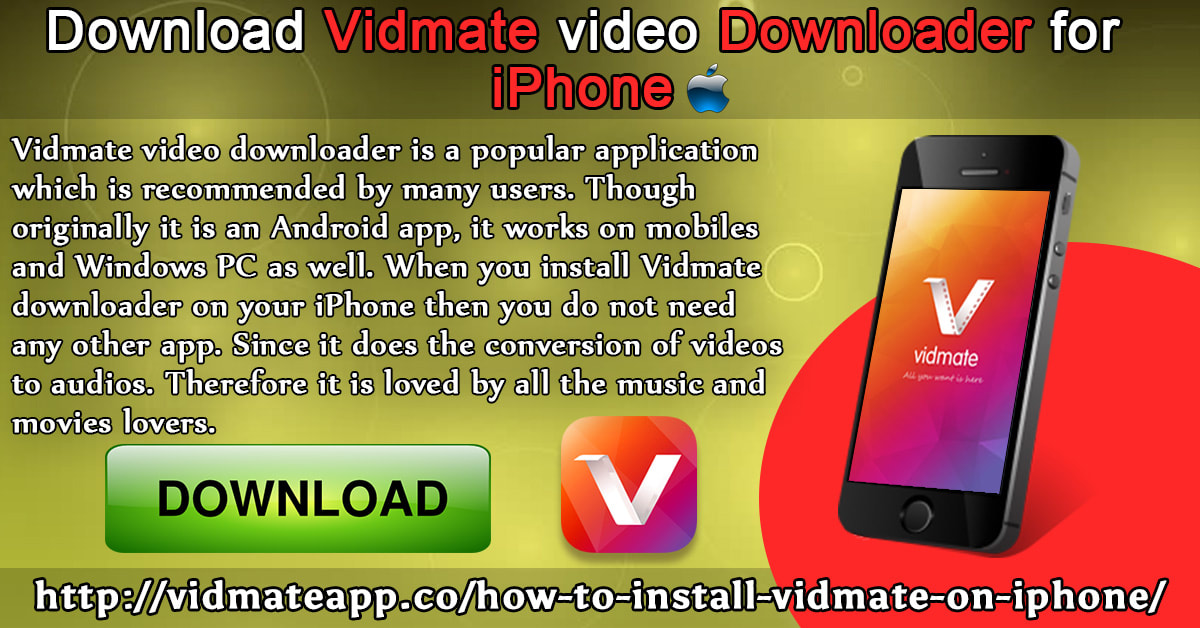 VIDMATE VIDEO DOWNLOADER APK MIRROR - Download VidMate APK